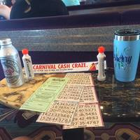 Bingo on Sensation is $20 for 3 games