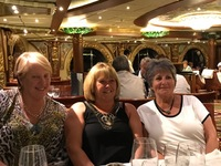 The ladies on our table