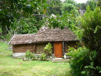 A house on Lifou Island