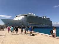 Oasis of the Seas in Cozumel, Mexico