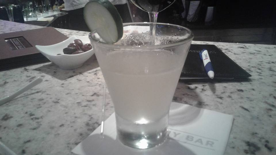Cucumber martinin