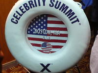 Celebrity Summit life ring