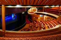 Vista Lounge is Noordam's main theatre