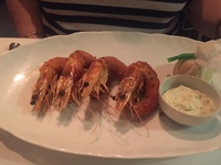 Shrimp at Ocean Blue