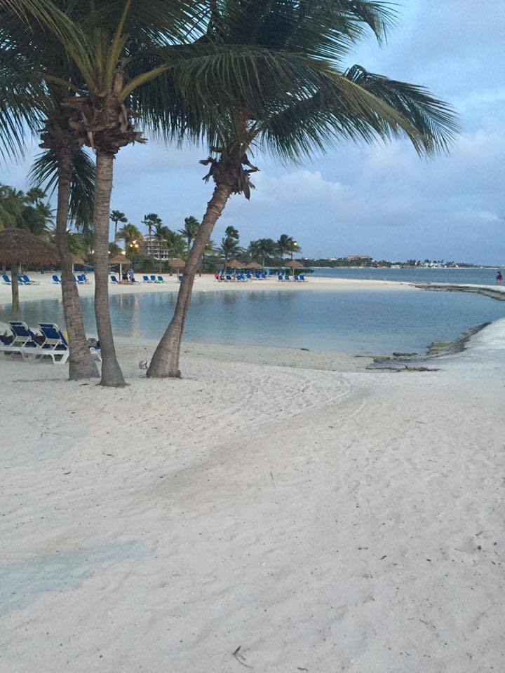 Aruba private beach