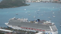 The ship in St Thomas.