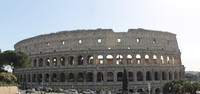 Colosseum.   Not what Hollywood depicts.   The floor was made of wood with