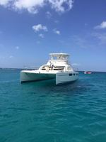 This Catamaran is not Calabaza, but just like it...from Silver moon