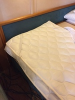 The extra padding on the mattress - hahaha.  Our cabin steward was aware th