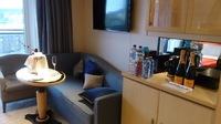 Princess Suite - Lack of wheelchair access to lounge
