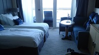Princess Suite - layout not wheelchair accessible to verandah