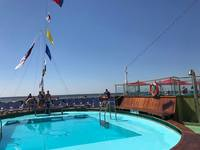 Pool on back of ship