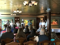 Meet and Greet well attended by Cruise Critic Members and Jewel Staff!
