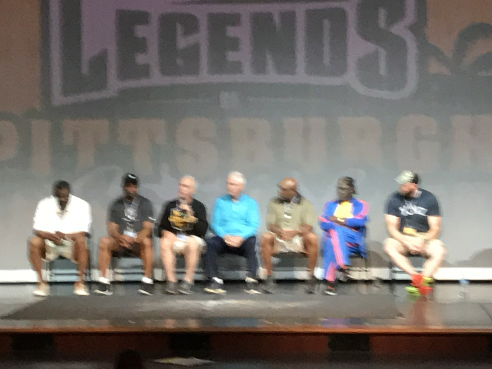 Friends of  Steelers Joe Greene on the Steeler Legends Cruise