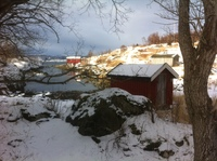 The beauty of Norway on one of the excursions.