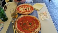 Pizza in Napoli!!! BEST EVER!!!