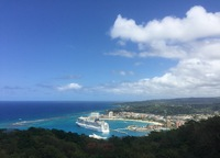 NCL Epic taken from Mystic Mountain, Ocho Rios Jamaica