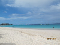 Carlyle Beach in Barbados.  One of the nicest beaches we have ever seen.