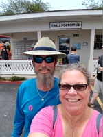 "Post office at ""Hell"" on Grand Cayman"