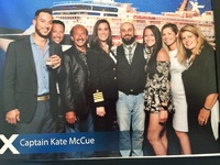 Captain Kate was the star of the ship