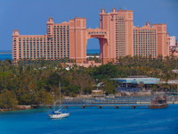 View of Atlantis from MSC Divina.