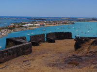 View from atop Fort Louis in Marigot, St. Martin.
