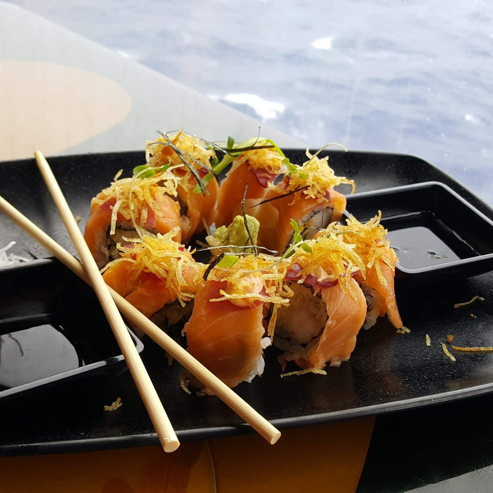 Sushi at Sea on Carnival Liberty