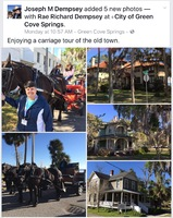 City of Green Cove Springs Carriage Tour