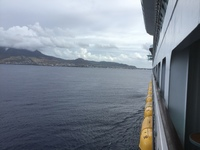 Pulling in to St. Marten