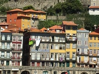 View of Porto from the ship