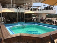 Pool on Silversea Discoverer