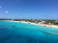 View of Grand Turk from our balcony while docked.  We were on the port side