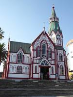 St. Mark's Cathedral designed by Gustave Eiffel.  Arica, Chile.