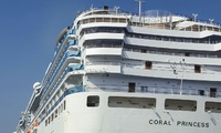 Coral Princess E736.  You can see the walkway.  Was good to be covered.
