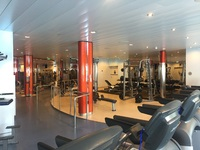 GREAT workout area!  My only complaint is that the saunas are only part of