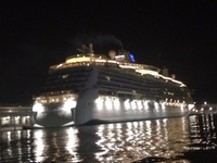 Brilliance of the Seas in the port of Venice