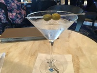 House vodka martini with 2 olive...not impressed.