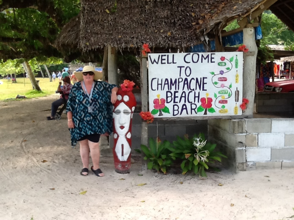 Welcome to one of the best beaches in the world.Named very well as Champagn