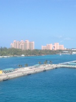 Leaving Nassau. Aft Balcony 10277 MSC Divina
