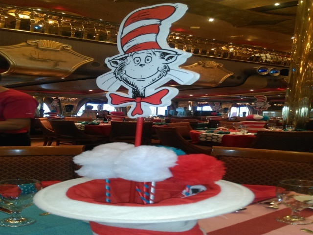 Seuss at the Green Eggs n' Ham breakfast