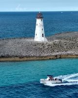 Lighthouse leaving Nassau