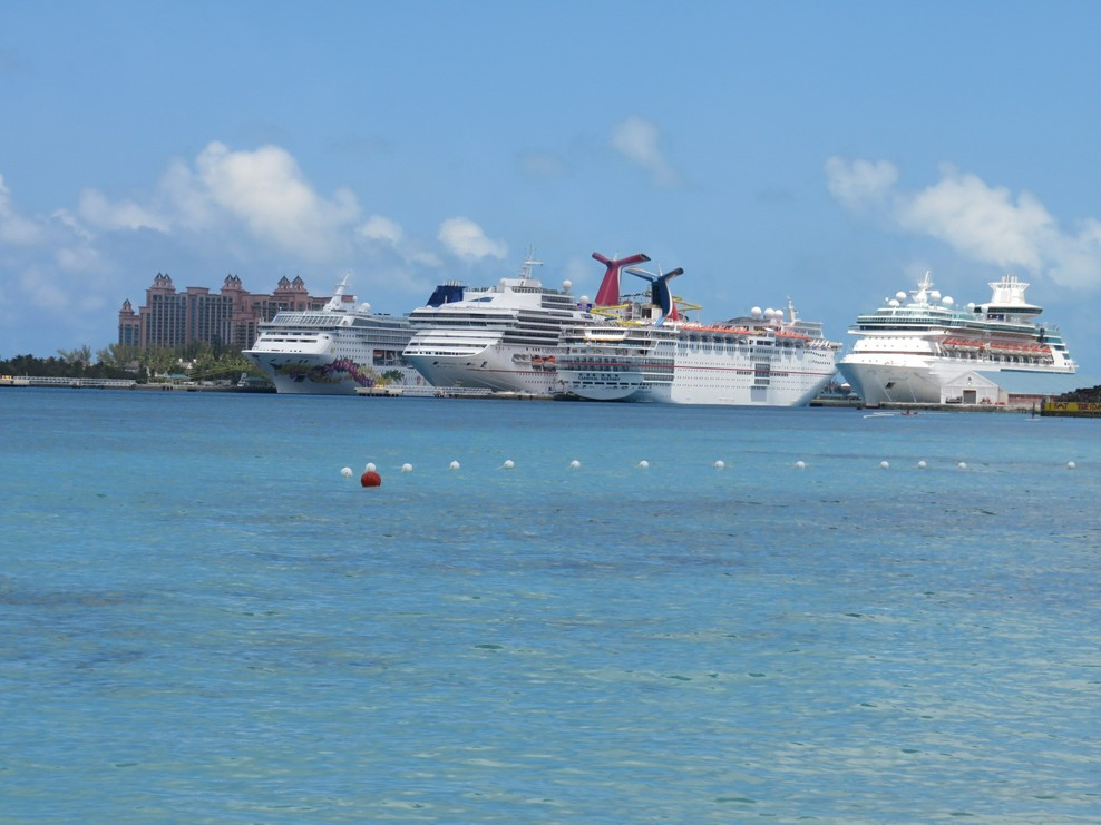 In port in Nassau