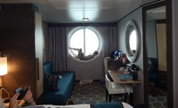 Our ocean view stateroom