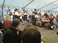 Bavaria Festival in the Vilshofen port to welcome us.