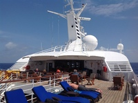 This is Star Bar on Deck 8, just aft of the Yacht Club.