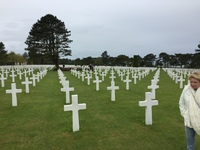 Normandy - Omaha Beach Cemetary. Be prepared with lots of hankies. Really moving experience.