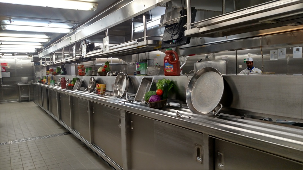 Galley Tour -  A worthwhile experience
