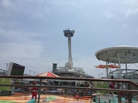 Deck 15 with North Star 90 meters high!
