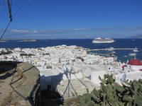 Overlooking Mykonos, Greece