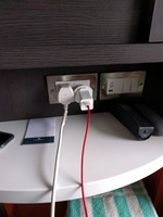 the nice new outlets and switched in the stateroom